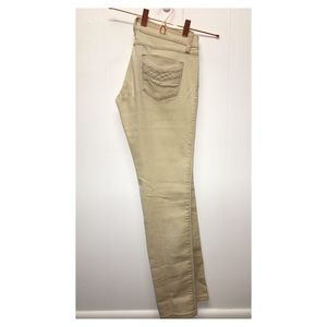 Reign | Tan Jeggings Skinny Pants with Stretch EUC